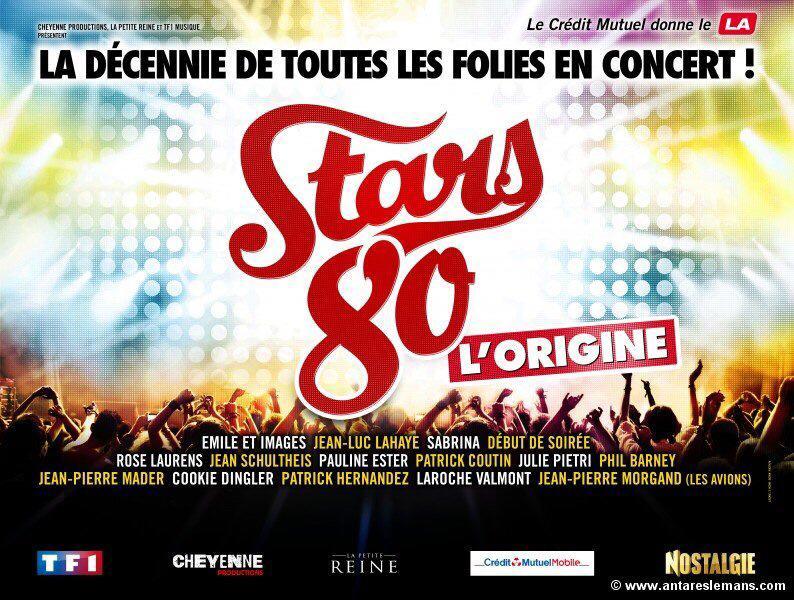 Tournee STARS 80